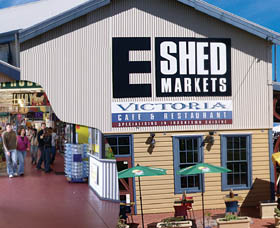 The E Shed Markets - Accommodation Adelaide