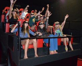7D Cinema - Virtual Reality - Accommodation Adelaide