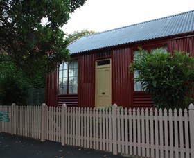 19th Century Portable Iron Houses - Accommodation Adelaide